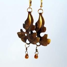 earrings-amber-pearl-copper