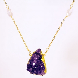 amethyst-necklace-16inch