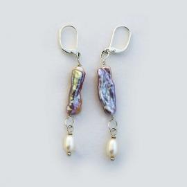 """2"""" Pearl Earrings"""