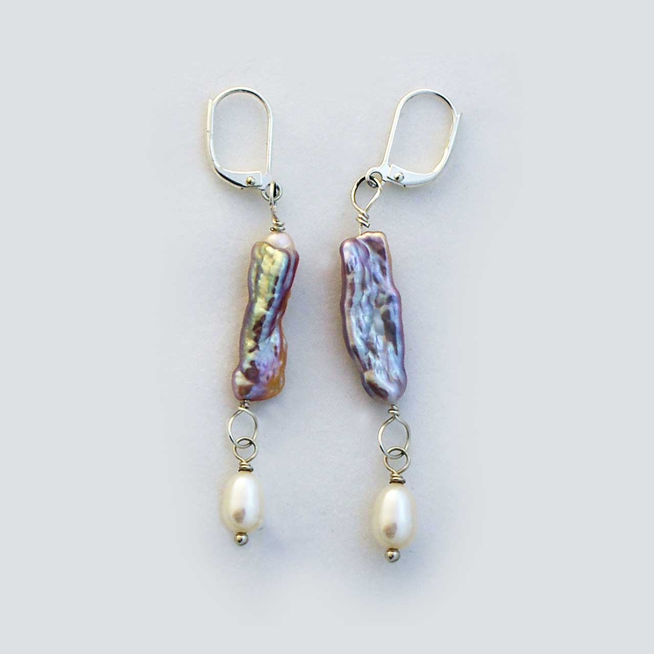 "2"" Pearl Earrings"