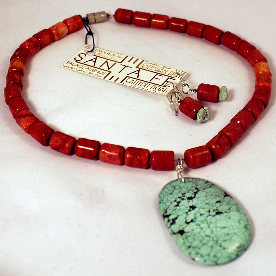 coral-turqoise-necklace-set