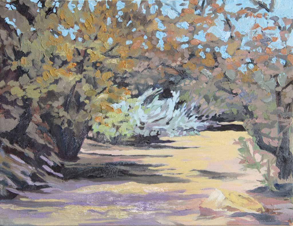 Cerro Gordo Water Way painting by Stephanie West