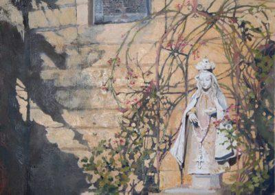 La Conquistadora Santa Fe Painting by Stephanie West