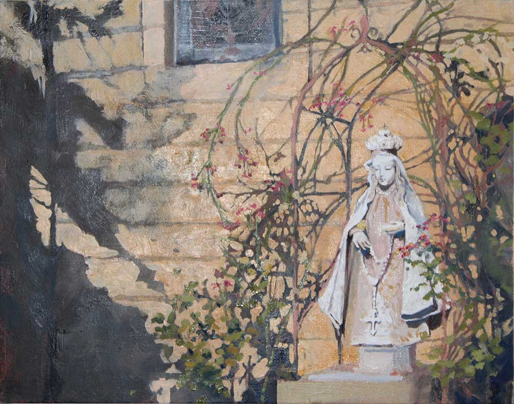La Conquistadora Painting