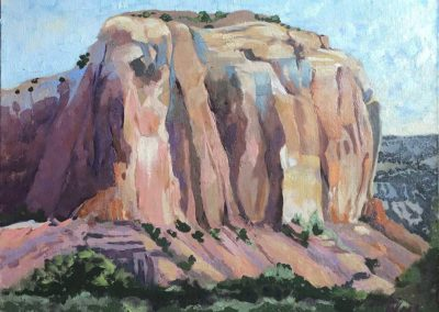 Painting in Ghost Ranch