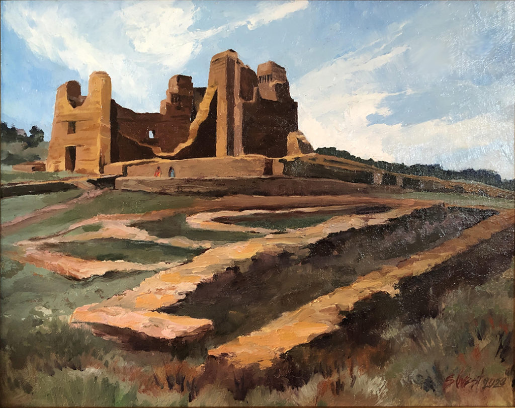 Painting Pueblos