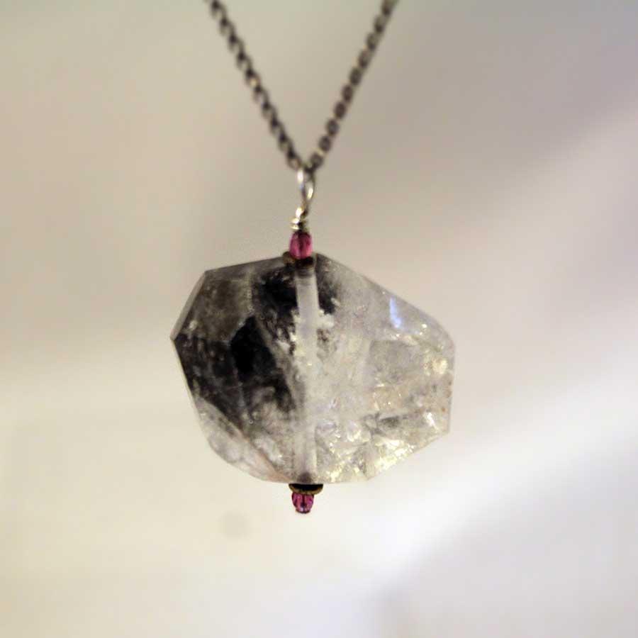 rutile-quartz-pendant