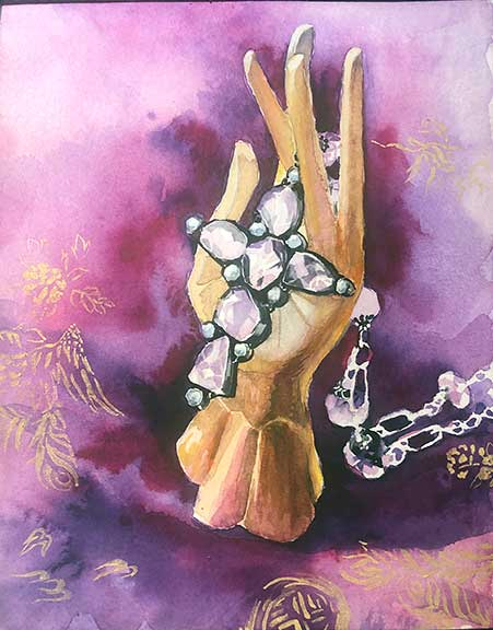 AmethystMudra-DeepeningSense-6x8-watercolor