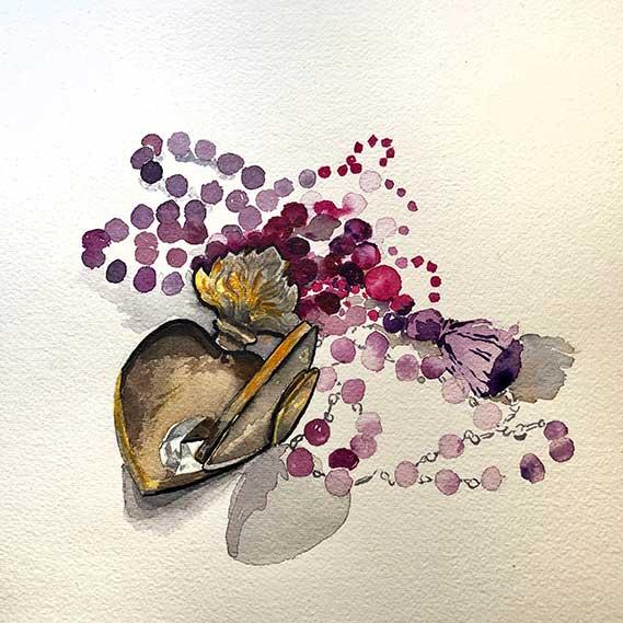 El Corazon Heart Painting