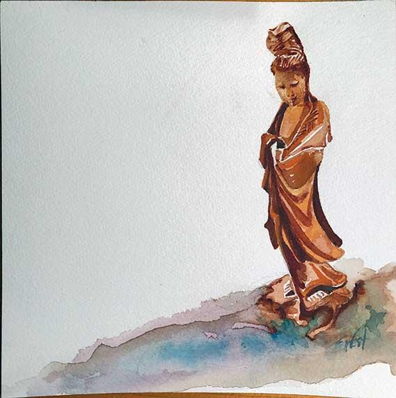 Painting of Kuan Yin